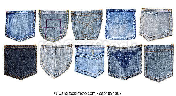 Jeans Taschen - csp4894807