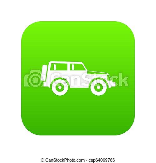 Jeep icon digital green - csp64069766