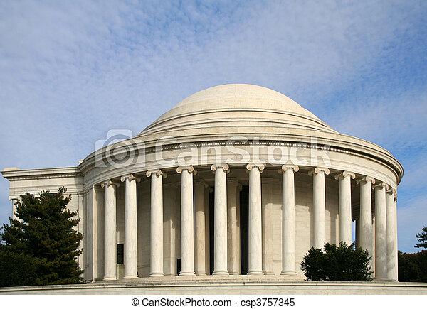 Jefferson Memorial - csp3757345