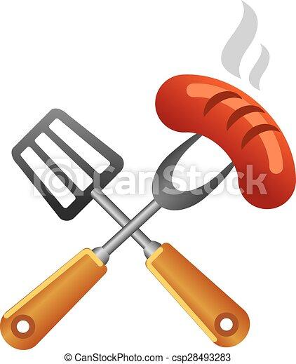 jelkép, grillsütő - csp28493283