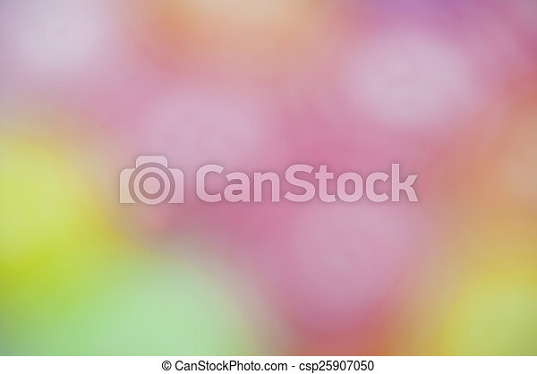 Jelly fruits on abstract background blur - csp25907050