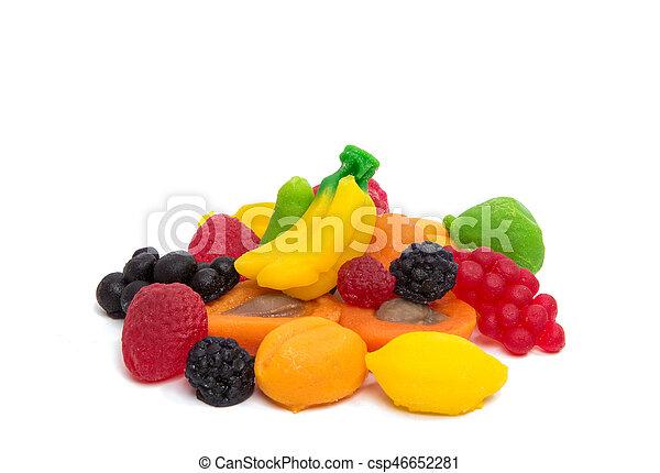 jelly fruits - csp46652281