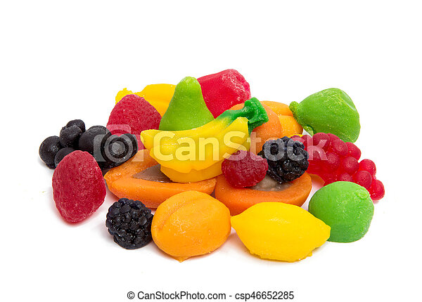 jelly fruits - csp46652285
