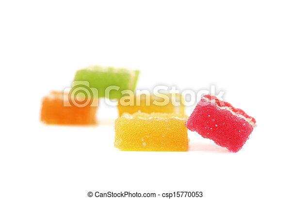 Jelly fruits. - csp15770053