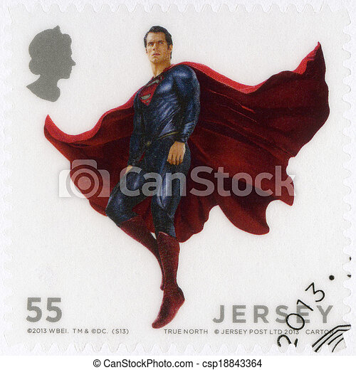 JERSEY - 2013: shows Man Of Steel - csp18843364