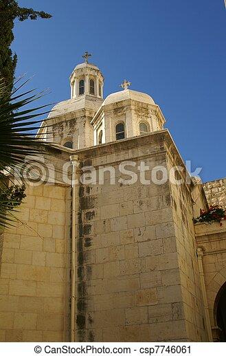 Jerusalem church - csp7746061