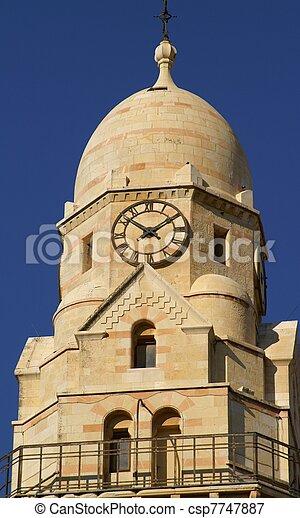 Jerusalem church - csp7747887