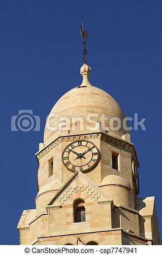 Jerusalem church - csp7747941