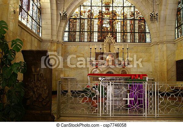 Jerusalem church - csp7746058