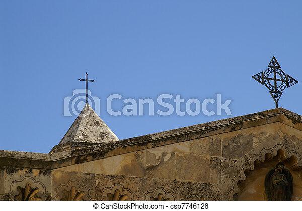 Jerusalem church - csp7746128