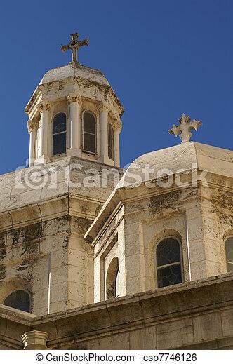 Jerusalem church - csp7746126