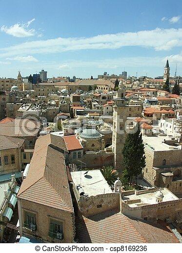 Jerusalem church - csp8169236