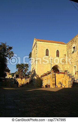 Jerusalem church - csp7747995