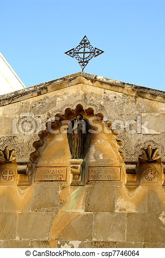 Jerusalem church - csp7746064
