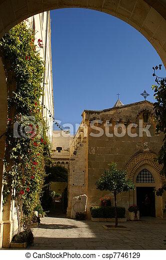 Jerusalem church - csp7746129