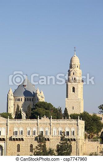 Jerusalem church - csp7747960