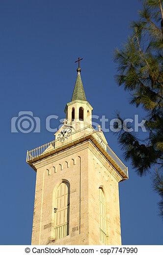 Jerusalem church - csp7747990