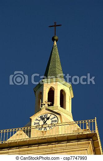Jerusalem church - csp7747993