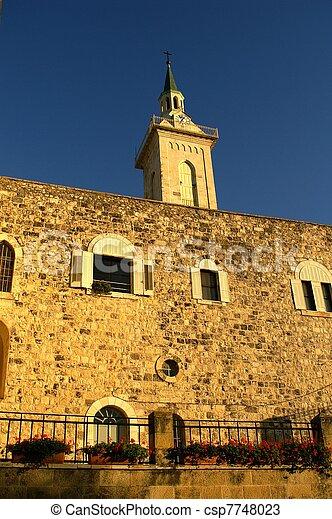 Jerusalem church - csp7748023