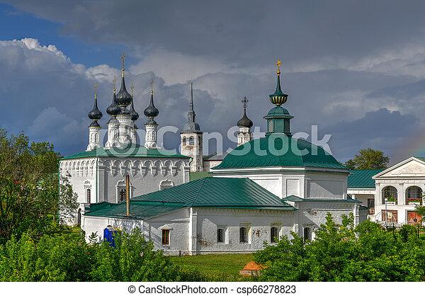 Jerusalem Church - Suzdal, Russia - csp66278823