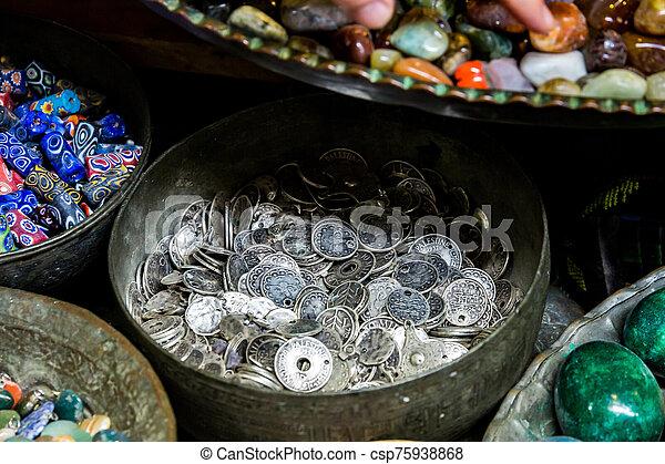 Jerusalem flea market - csp75938868