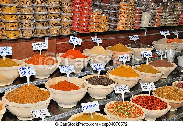 Jerusalem market. - csp34070572
