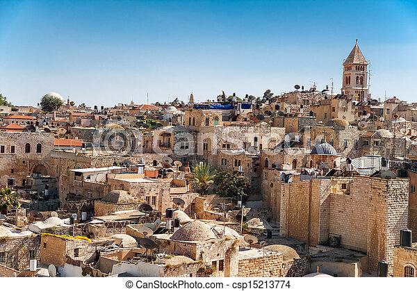 Jerusalem Old City - csp15213774