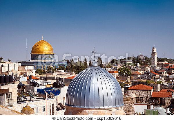 Jerusalem Old City - csp15309616