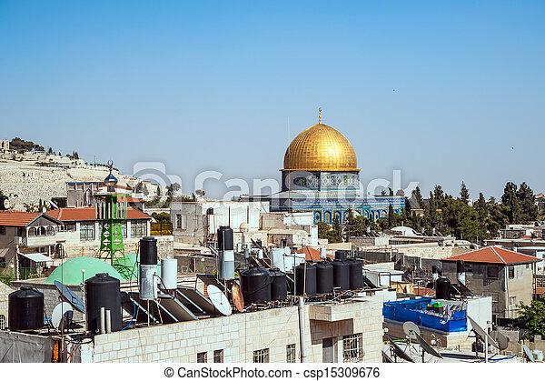 Jerusalem Old City - csp15309676