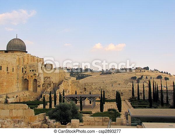 Jerusalem – old city - csp2893277
