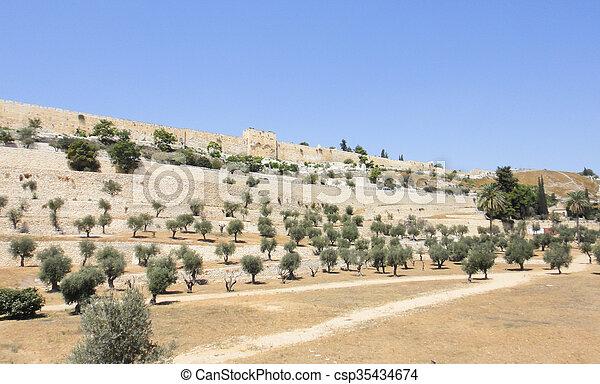 Jerusalem old city - csp35434674