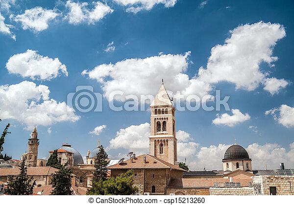 Jerusalem Old City - csp15213260