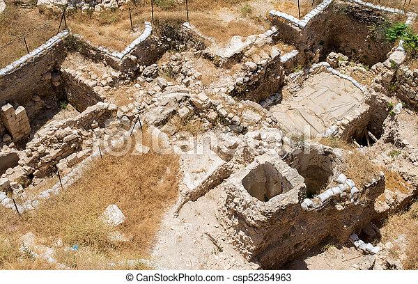 Jerusalem old city - csp52354963