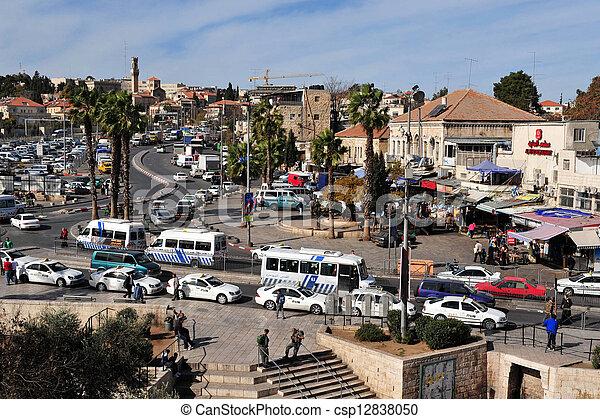 Jerusalem Old City - csp12838050