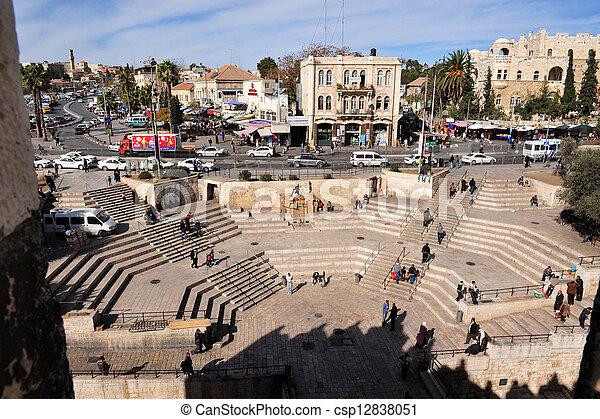 Jerusalem Old City - csp12838051