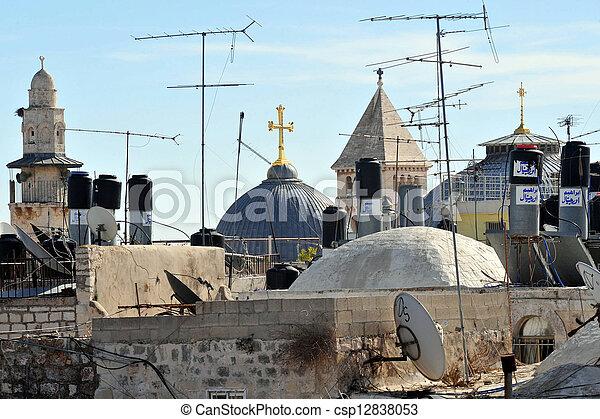Jerusalem Old City - csp12838053