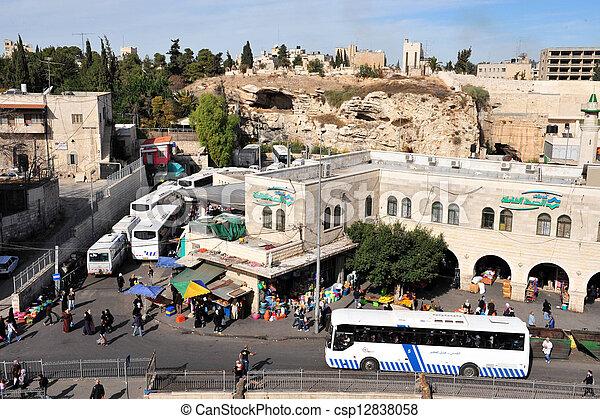 Jerusalem Old City  - csp12838058