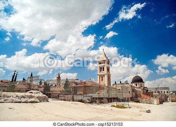 Jerusalem Old City - csp15213153