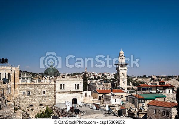 Jerusalem Old City - csp15309652