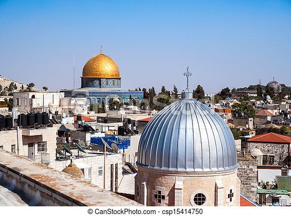 Jerusalem Old City - csp15414750