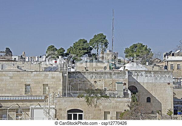Jerusalem Old city - csp12770426