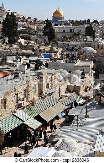 Jerusalem Old City - csp12838046