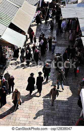 Jerusalem Old City - csp12838047