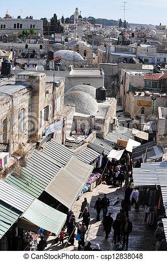 Jerusalem Old City - csp12838048