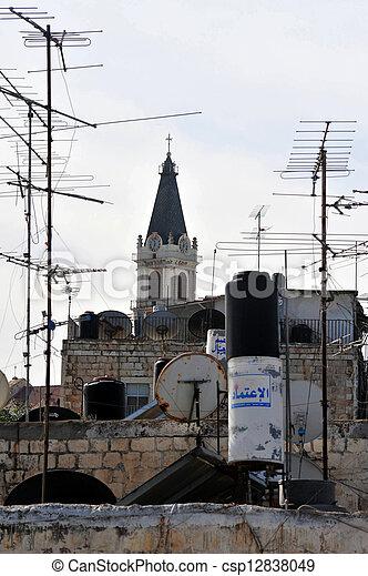 Jerusalem Old City - csp12838049