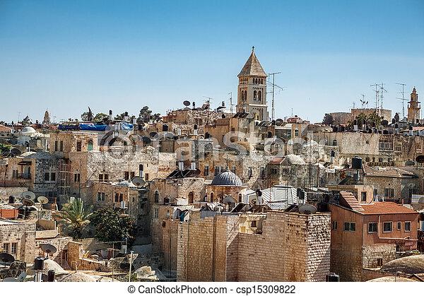 Jerusalem Old City - csp15309822