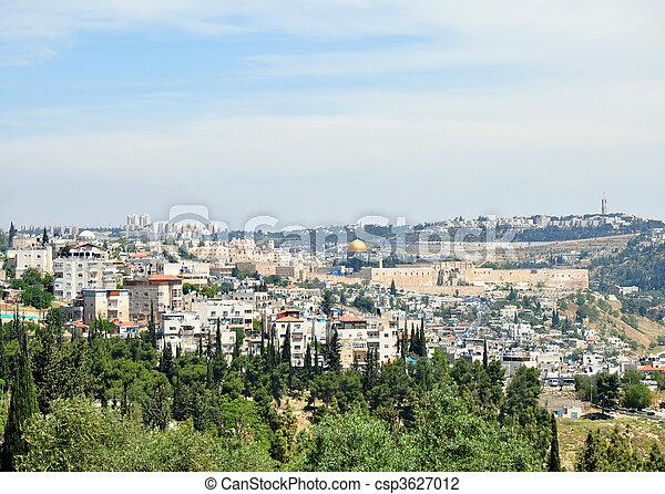 Jerusalem Old City - csp3627012