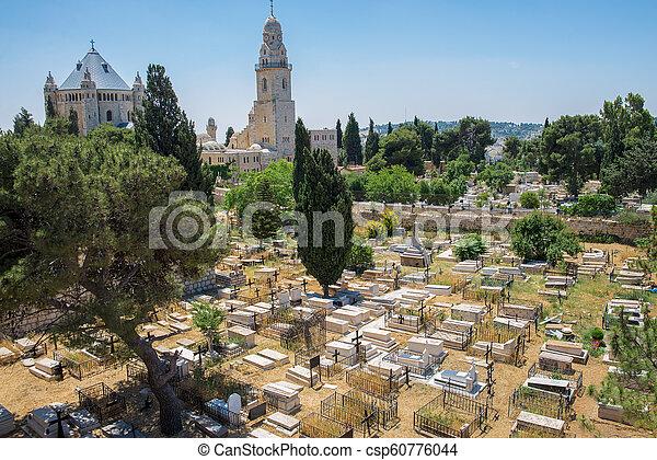Jerusalem old city - csp60776044