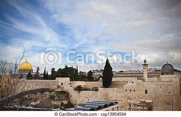 Jerusalem Old City - csp13954594