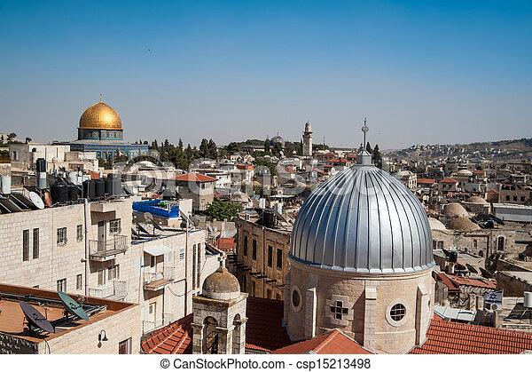 Jerusalem Old City - csp15213498